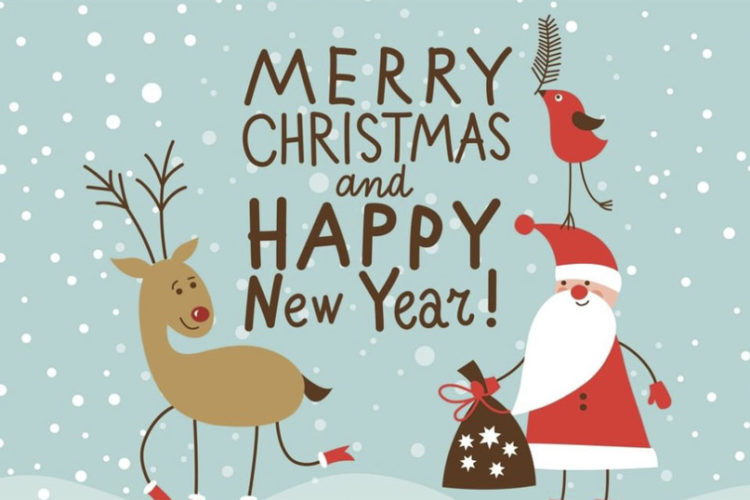 Firmowa kartka świąteczna