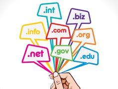 Rozszerzenia domen internetowych w projektowanych stronach www